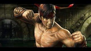 Mortal Kombat- Liu Kang и его  комбо