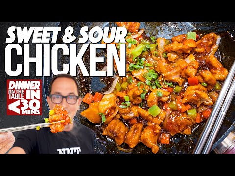 THE ULTIMATE SWEET & SOUR (AND SPICY!) CHICKEN AT HOME | SAM THE COOKING GUY