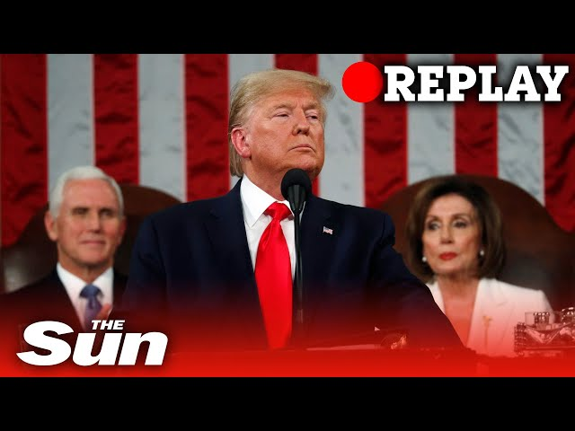 Donald Trump acquitted by Senate in impeachment trial - REPLAY