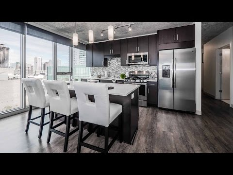 Apartment video walk-through – a 2-bedroom, 2-bath at the new Gateway West Loop