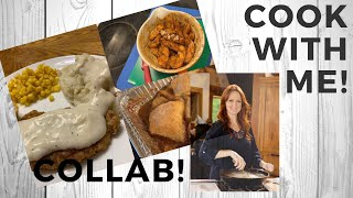 Pioneer Woman Inspired Dishes || COOK WITH ME || Collab With #sweethomestephanie
