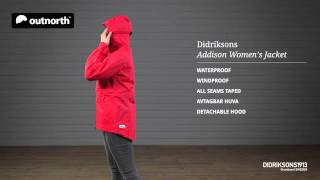 Didriksons Addison Women's Jacket Outnorth