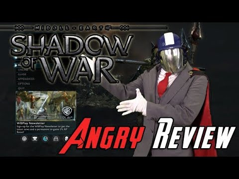 Shadow of War Angry Review - YouTube video thumbnail
