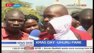 How Kenyans are celebrating #ChristmasDay at Uhuru Park