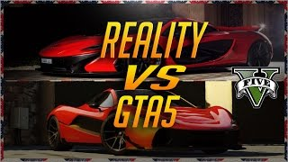 [GTA5] 2017 GTA5 Cars VS Cars In Real Life [ Supercars Edition]