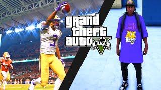 GTA V - High School FOOTBALL STORY 4 (gta 5)