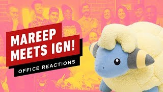 Mareep  - (Pokémon) - Mareep Meets IGN! Our Reactions to a $500 Life-Sized Pokemon