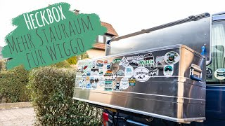 Unsere Stauraum-Erweiterung | Fahrradträger Heckbox selber bauen