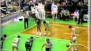 '1986 Boston Celtics' Basketball Clinic vs Milwaukee Bucks (1986 ECF Game 1)