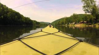 preview picture of video 'Kayaking down the Allegheny River'