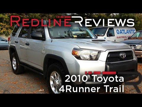 2010 Toyota 4Runner Trail Review, Walkaround, Exhaust, Test Drive