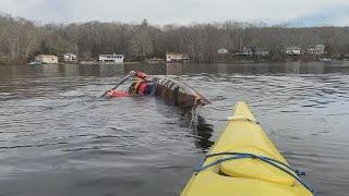Kayak rolls in December