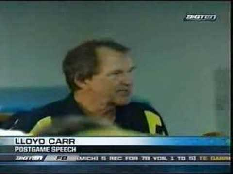 Lloyd Carr postgame interview - Capital One Bowl