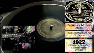 Jack Crawford & His Orchestra- Id Walk A Million Miles - 1927