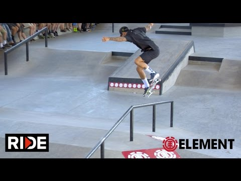 Nyjah Huston, Greyson Fletcher & More - Element Boise Demo