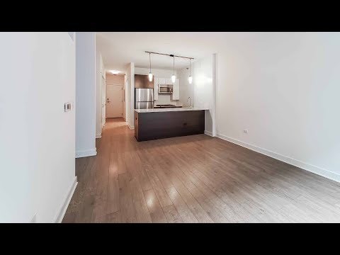 A convertible 1-bedroom at the Loop's luxurious MILA apartments