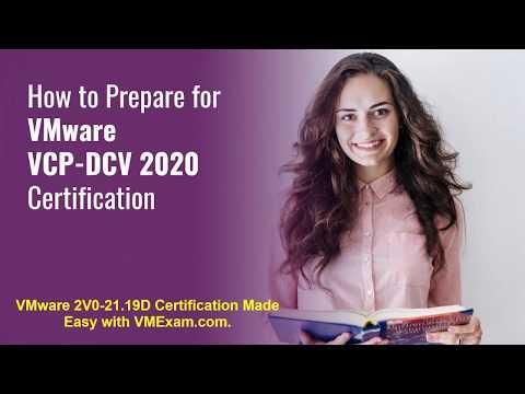 Achieve Desired Score in VMware VCP-DCV 2020 (2V0-21.19D ...