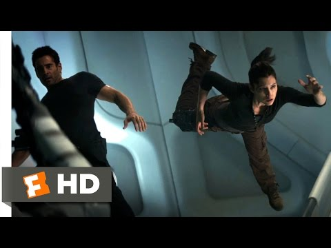 Total Recall (2012) - Anti-Gravity Gun Fight Scene (8/10) | Movieclips