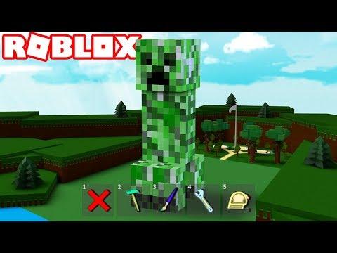 Roblox BUILDING A GIANT CREEPER! 💥 Awww man