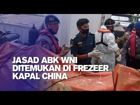 Jasad ABK WNI Ditemukan di Frezeer Kapal China