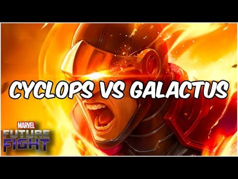CYCLOPS T3 VS GALACTUS! GOOD & AWFUL TEAMMATES - Marvel Future Fight