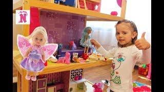 Домик для кукол с КОНФЕТАМИ волшебство для детей doll House Игрушки для девочек