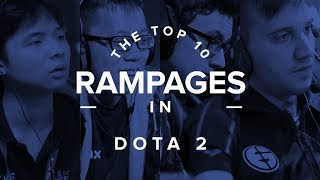 Top 10 Pro Dota 2 Rampages of All-Time