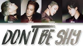 WINNER (위너) - DON'T BE SHY (Color Coded Lyrics Eng