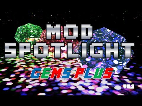 Minecraft Mod Spotlight - Gems Plus (V0.2)