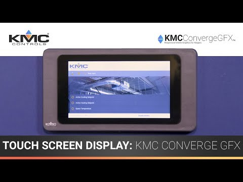 7″ Touch Screen Display: KMC Converge GFX