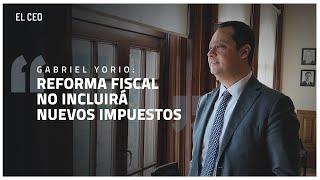 """Entrevista a Gabriel Yorio: """"Reforma fiscal no incluirá nuevos impuestos"""""""