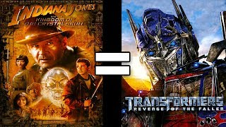 24 Reasons Indiana Jones 4 & Transformers 2 Are The Same Movie