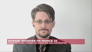 Exclusive: Edward Snowden's full interview with France24