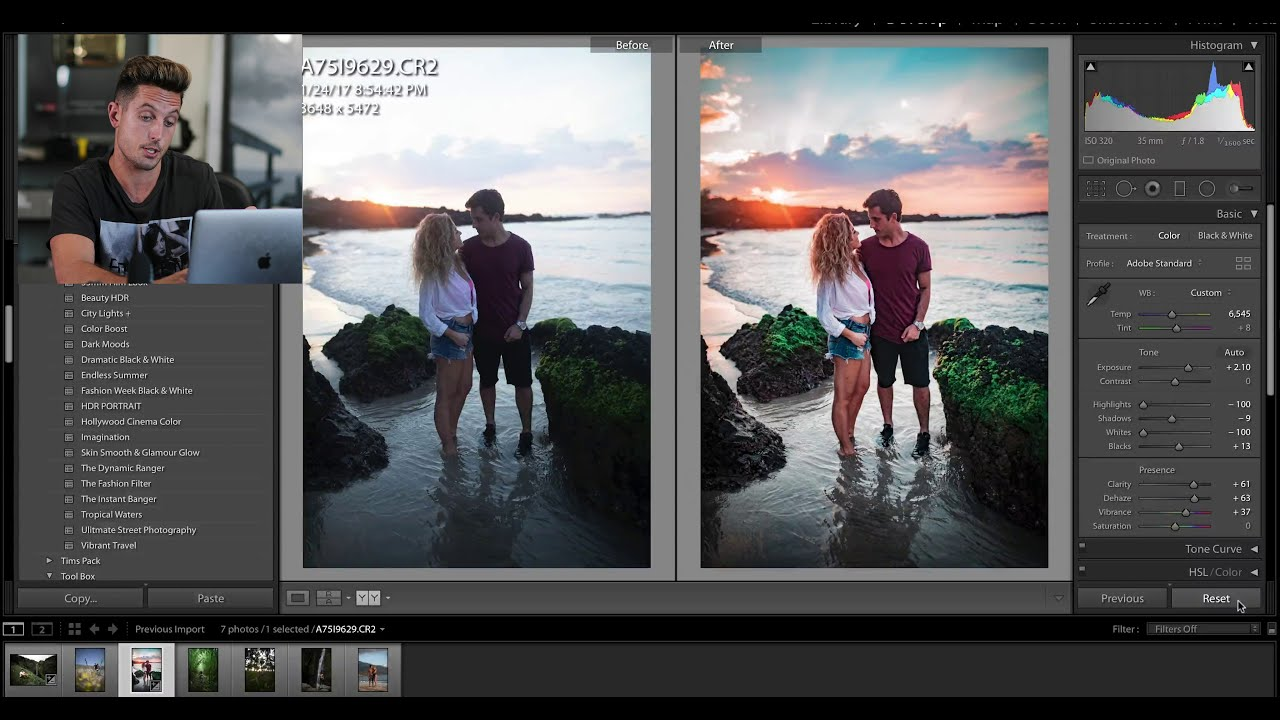 how to edit your photos like a pro using adobe lightroom by sawyer hartman