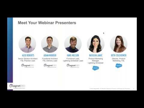 Webinar: Knowing when to Use Salesforce Field Service Lightning ...