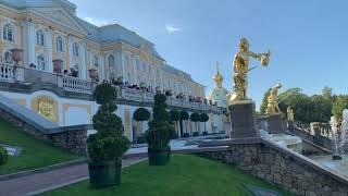 Петергоф фонтаны | петергоф дворец | петергоф история |петергоф нижний парк |2019