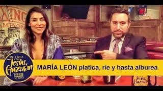 MARÍA LEÓN habla de Playa Limbo, Netflix, el Sargentour y más!