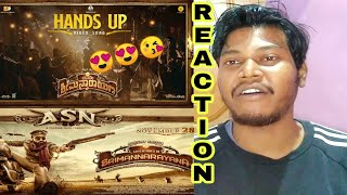 Avane Srimannarayana Hands UP Song Reaction Review | Rakshit Shetty | B. Ajaneesh Loknath