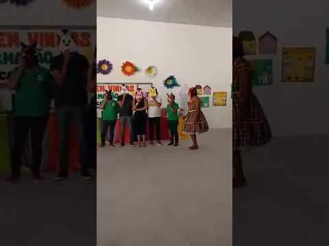 Apresentação da Menina Bonita do Laço de Fita, Oficinas em Acajutiba-BA