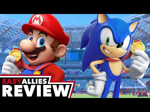Mario & Sonic at the Olympic Games Tokyo 2020 - Easy Allies Review - YouTube video thumbnail