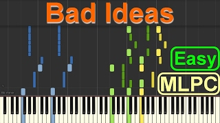 Alle Farben - Bad Ideas (Easy Version) I Piano Tutorial by MLPC