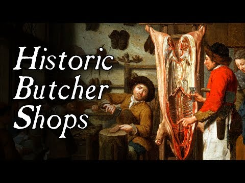 Butcher Shops In The 18th Century – Q&A
