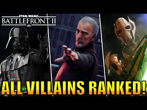 Every Villain Ranked from Worst to Best! - Star Wars Battlefront 2