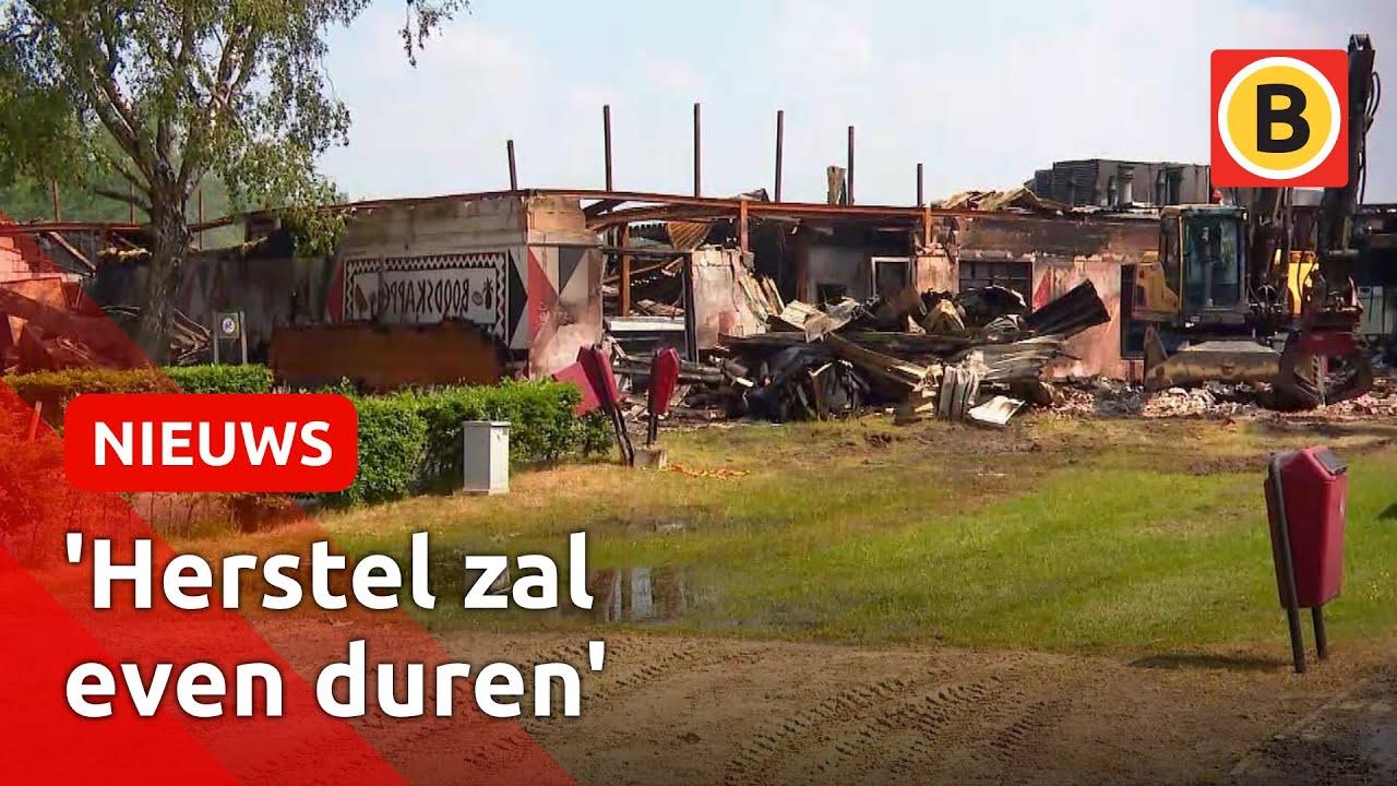 Day after Beekse Bergen brand: park krabbelt langzaam op   Omroep Brabant
