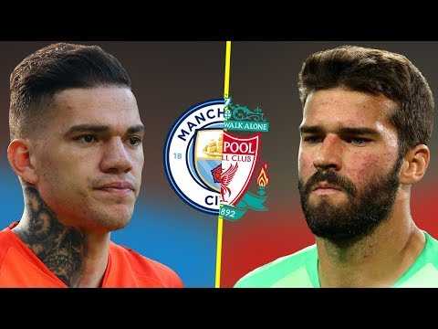 Alisson VS Ederson - Who Is The Best Goalkeeper? - Amazing Saves - 2018/19