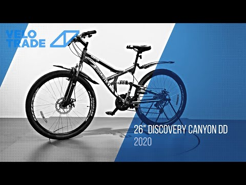 "Велосипед 26"" Discovery CANYON DD 2020: video"