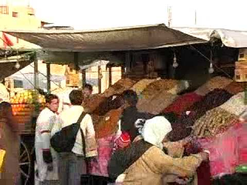 Het dagelijks leven in Marrakech