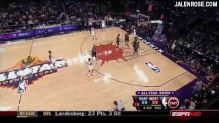 NBA All Star Game 2009 Highlights HD - Jalen Rose Analyzes