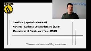 FISP21 – SAXTANK – Sax on Research: Philippe Trovao [ESTRENO 13:30h]
