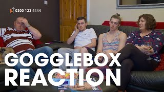 The Gogglebox Reaction to Lloyd's Story | Stand Up To Cancer